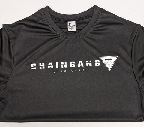 Chainbang - Black 'Chainbang Bar Logo' Dri-Fit Shirt