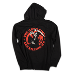 """The Good Times"" zip hoodie - Out of Medium"