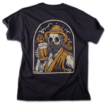 """Beer"" t-shirt (mouse grey) - Out of Medium"