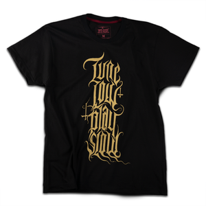 """Tune Low, Play Slow"" t-shirt - Out of Medium"