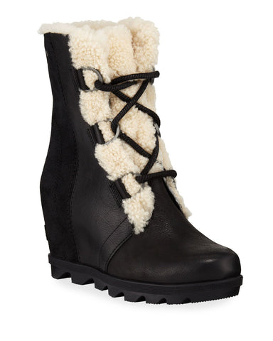 Sorel Joan Of Arctic Wedge II Shearling Black