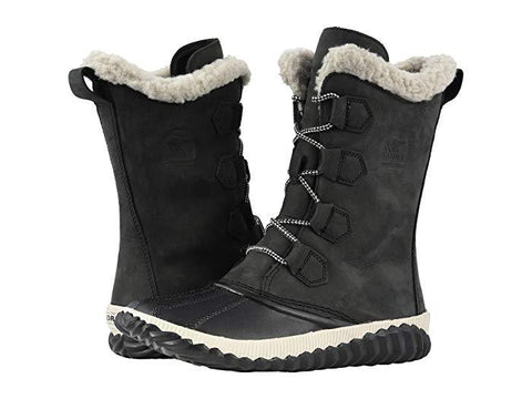 Sorel Out N About Plus Tall Black