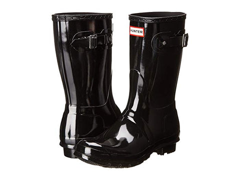 Hunter Womens Short Glossy Boot