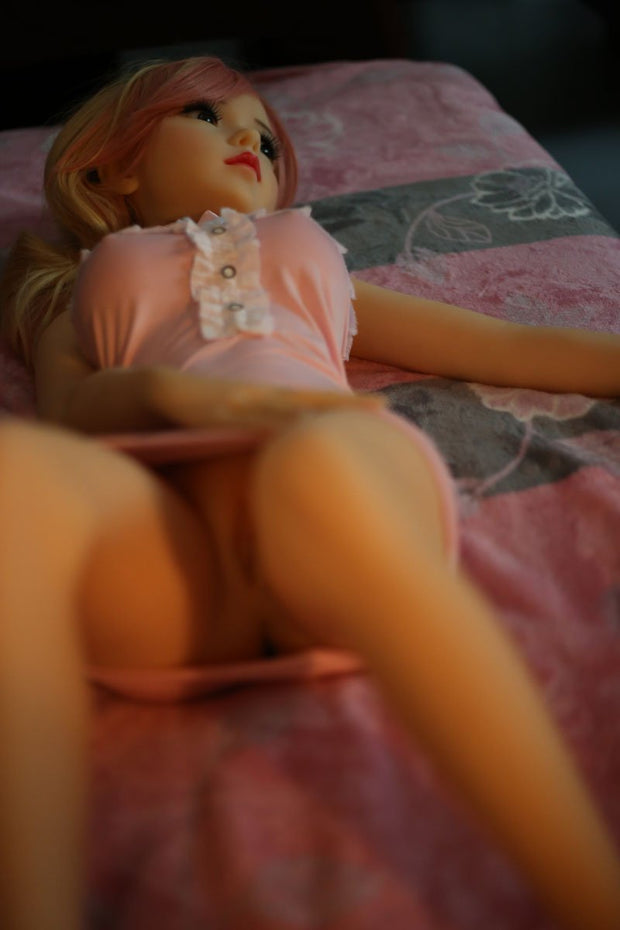 100cm (3 ft 3) Mini Ultra Real-Feel Sex Doll Mandy