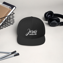 Load image into Gallery viewer, Jesus Saved Me Christian Baseball Hat, Ball Caps for Men & Women, Religious Apparel, Christian Gifts