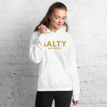 Load image into Gallery viewer, Salty Hoodie, Christian Hoodies for Women & Men, Salty Sweatshirt, Matthew 5:13, Bible Verse Hoodie Salty Sweater for Women