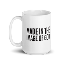 Load image into Gallery viewer, God Is Greater Than The Highs And Lows White Glossy Ceramic Coffee Mug for Christians & Catholics, Religious Coffee Cup
