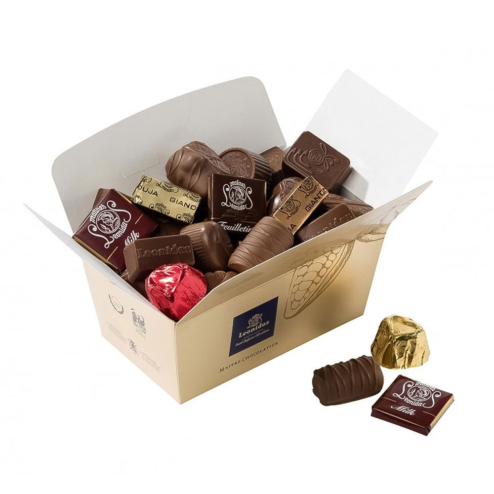 Milk Chocolate Ballotin Box