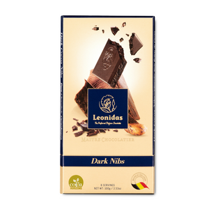 Dark Nibs Chocolate Bar, 100g