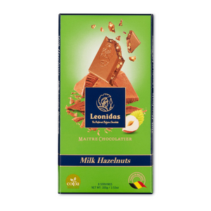Load image into Gallery viewer, Milk Chocolate Hazelnut Bar, 100g