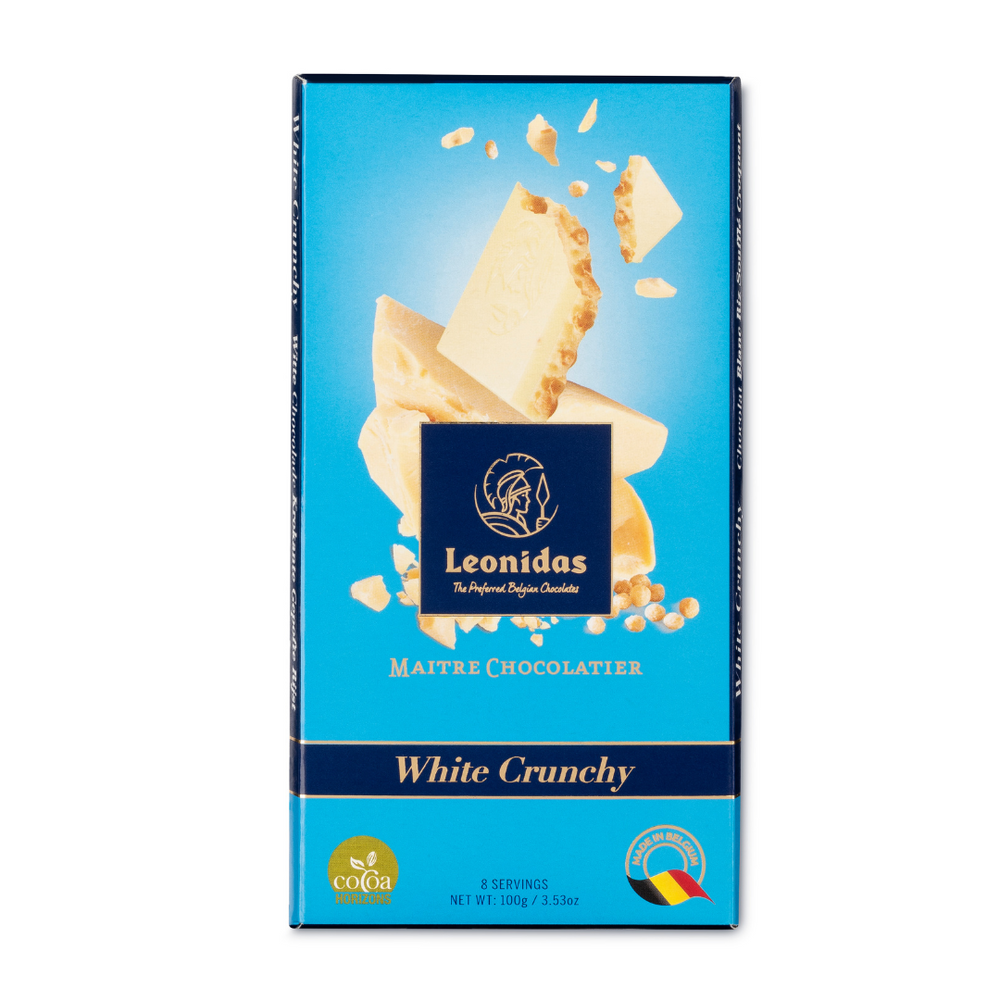 White Chocolate Crunchy Puffed Rice Bar, 100g