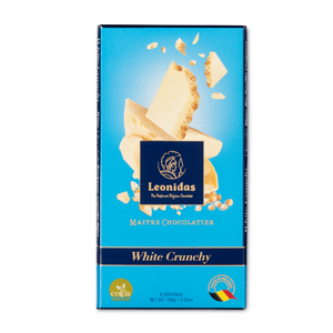 Load image into Gallery viewer, White Chocolate Crunchy Puffed Rice Bar, 100g