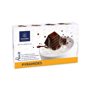 Load image into Gallery viewer, Leonidas Hot Chocolate Pyramides, 208g
