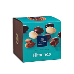 Load image into Gallery viewer, Leonidas Cube of Almonds, 200g