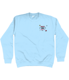 Stay Paw-sitive embroidered sweater