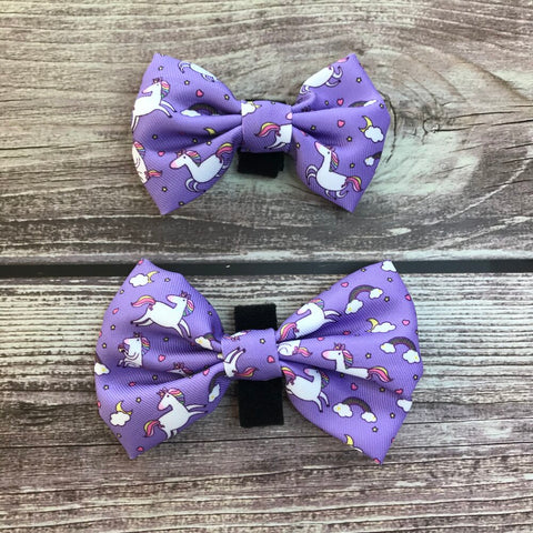 Daydreams and Unicorns Bow Tie