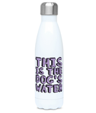 This is the dog's water bottle