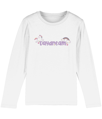 Daydreams and Unicorns kids long sleeve t-shirt