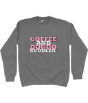 Coffee and doggo cuddles sweatshirt