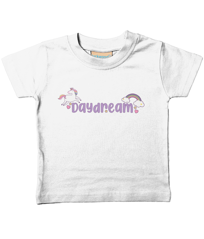 Baby/Toddler Organic T-Shirt Daydreams and Unicorns