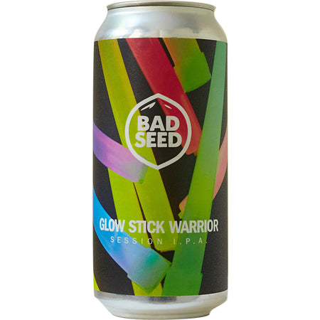 Bad Seed Brew - Glow Stick Warrior - Session IPA 4.6% Past BBD