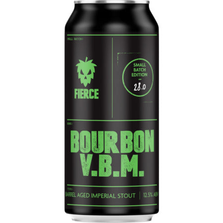 Bourbon Barrel Aged VBM - Imperial Stout 12.5% - 440ml Can