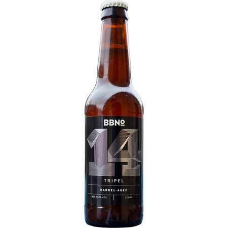 BBNo 14 - Tripel - Barrel Aged  - 11%