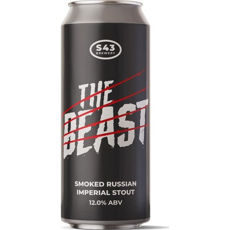 S43 The Beast - Smoked Russian Stout 12%