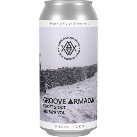 GROOVE ARMADA EXPORT STOUT -  MOURNE MOUNTAINS - 5.8%