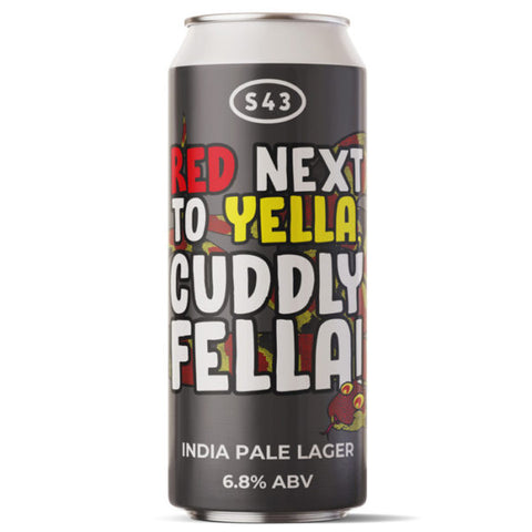 S43 - Red Next To Yella Cuddly Fella - IPL -440ml Cans