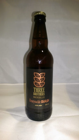 Three Brothers - Honeysuckle Smash - 4% 500ml Bottle