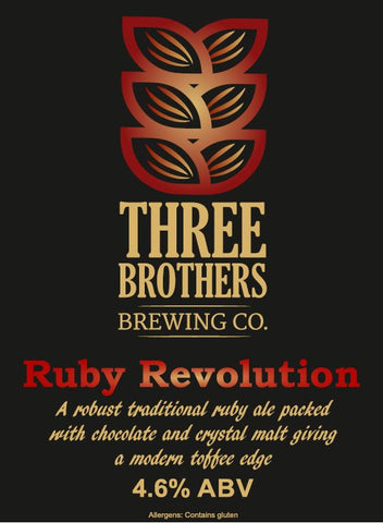 Three Brothers - Ruby Revolution - 4.6% 500ml Bottle