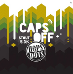 Caps Off x Hops and Dots - Coffee Vanilla Stout 5.3% 330ml -  Available Now
