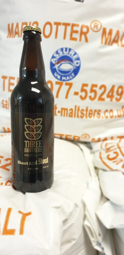 Three Brothers - Short and Stout- 5% 500ml Bottle