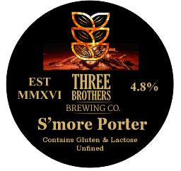 Three Brothers - S'More Porter - 4.8% 500ml Bottle