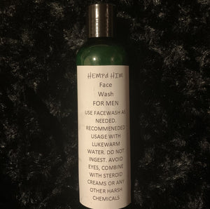 Hemp'd Him Face & Body Wash