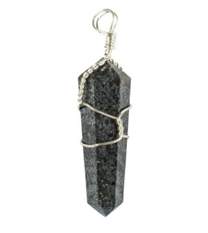 Wire Wrapped Hematite