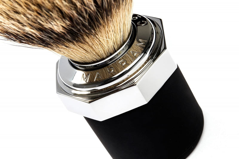 Marram Co Shaving Brush (Chrome)