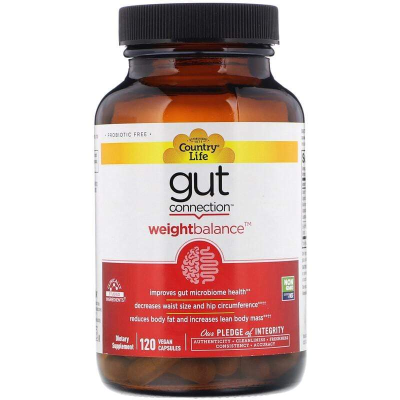 Country Life Gut Connection Weight Balance -- 120 Capsules