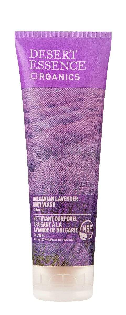 Desert Essence Bulgarian Lavender Body Wash -- 8 fl oz