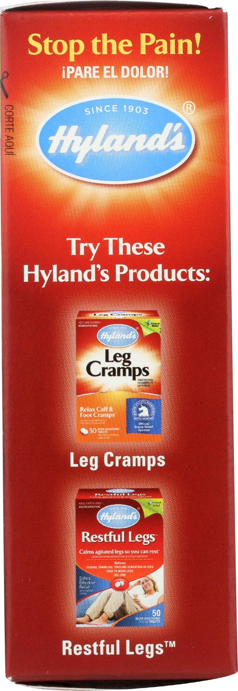 Hyland's Leg Cramps PM  -- 50 Tablets