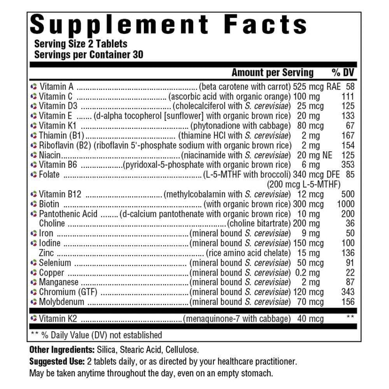Innate Response Formulas Women's 40+ Multivitamin -- 60 Tablets