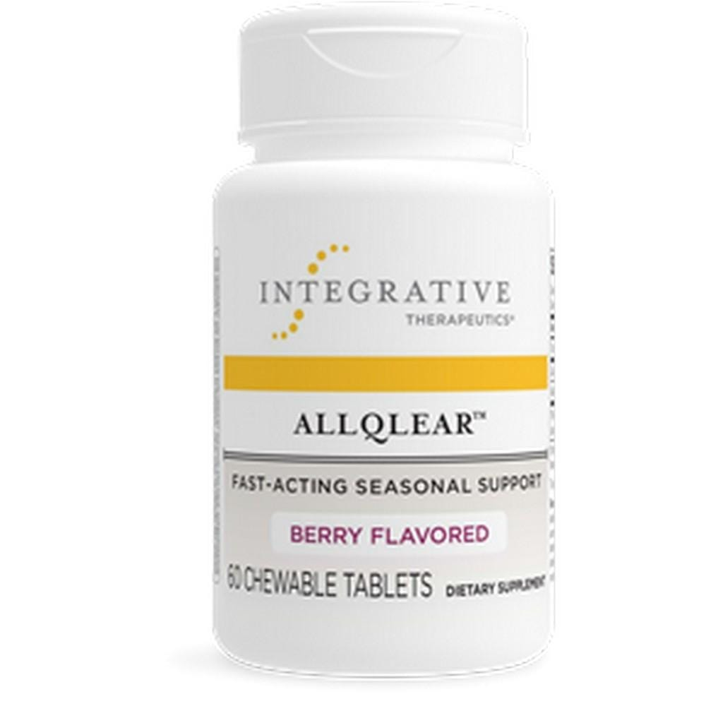 Integrative Therapeutics AllQlear Berry Flavored -- 60 Chewable Tablets