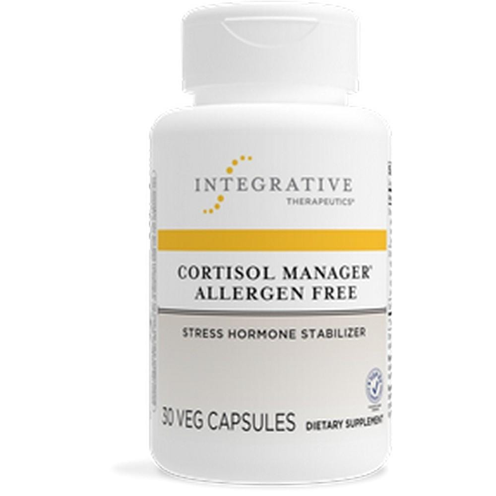 Integrative Therapeutics Cortisol Manager Allergen Free -- 30 Capsules