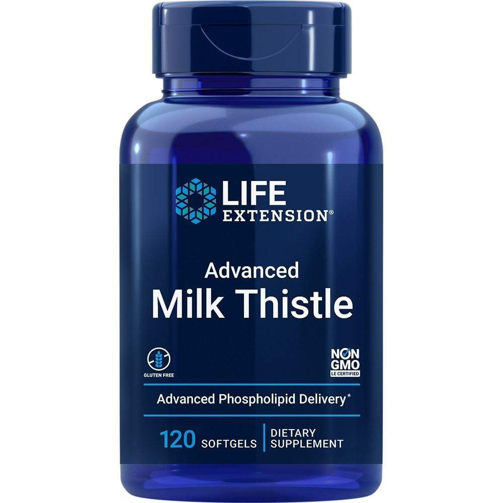 Life Extension European Milk Thistle-Advanced  Phospholipid Delivery -- 120 Softgels