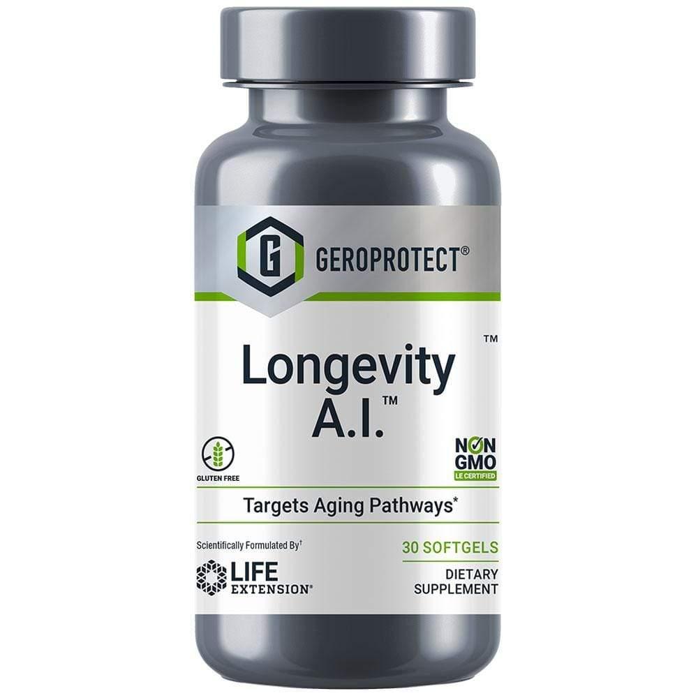 Life Extension Geroprotect Longevity A.I. -- 30 Softgels