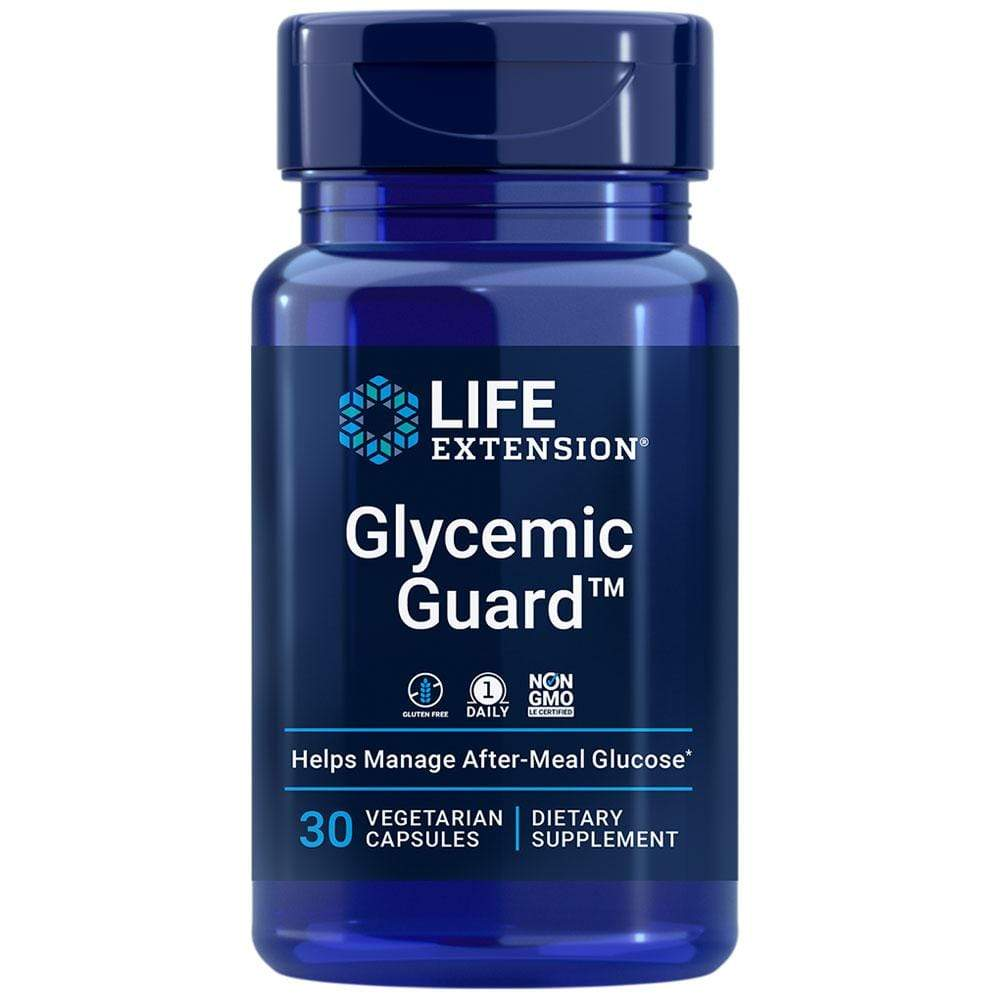 Life Extension Glycemic Guard -- 30 Capsules