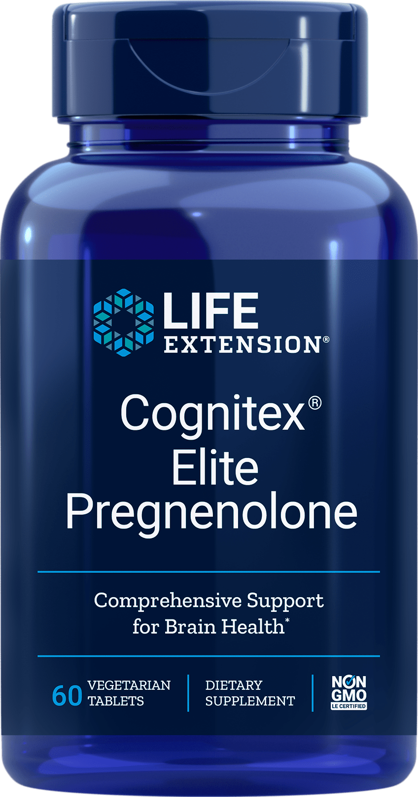 Life Extension Life Extension Cognitex Elite w-Pregnenolone -- 60 Tablets
