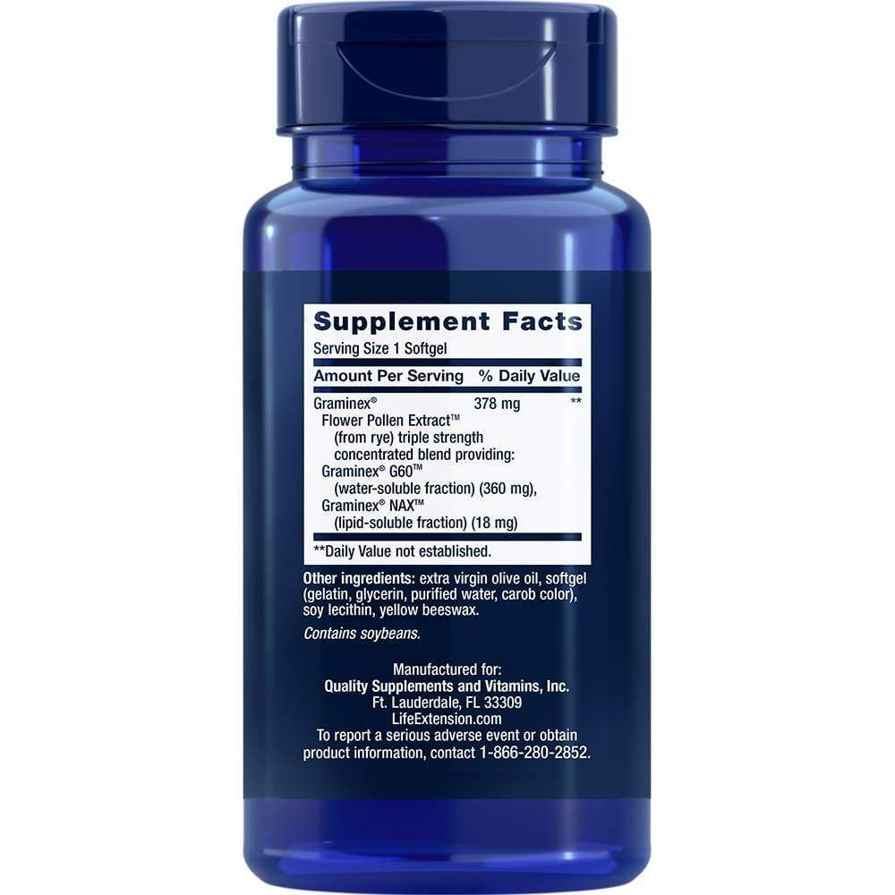 Life Extension Prostapollen -- 30 Softgels