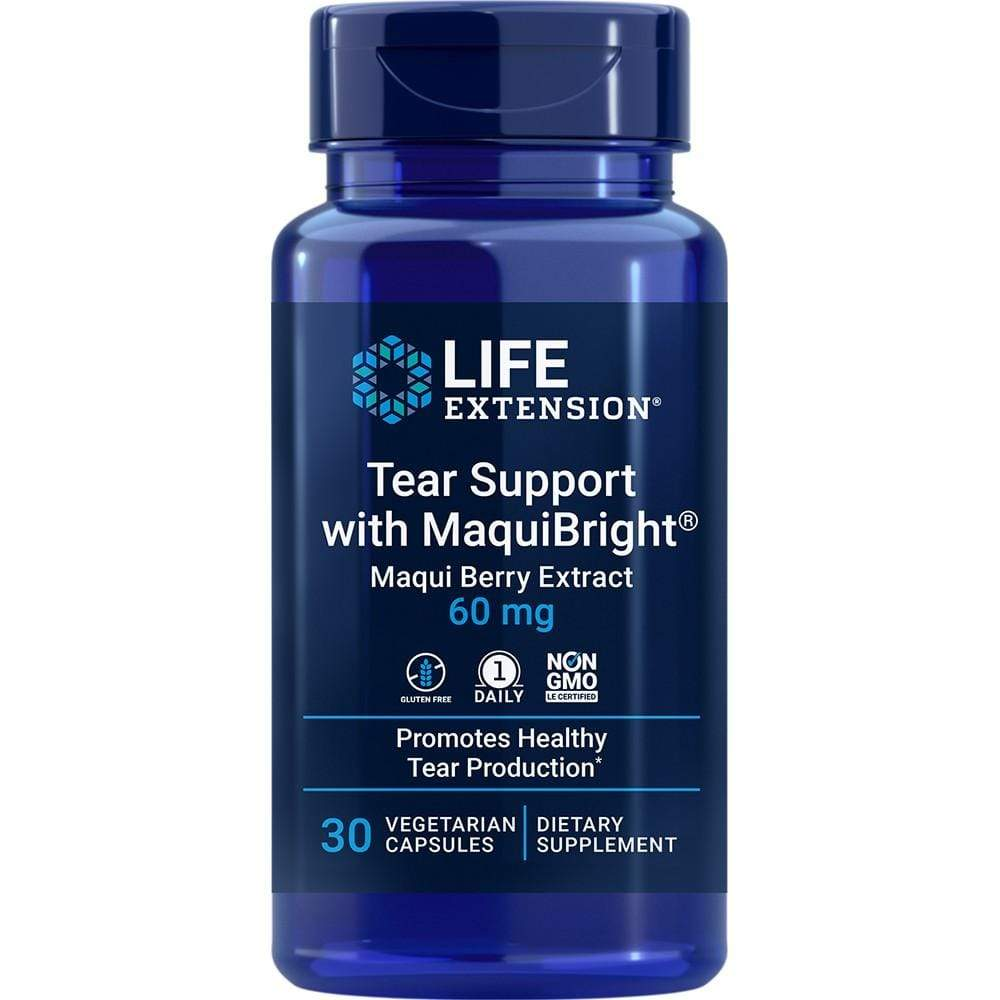 Life Extension Tear Suppport w-Maquibright -- 30 Capsules